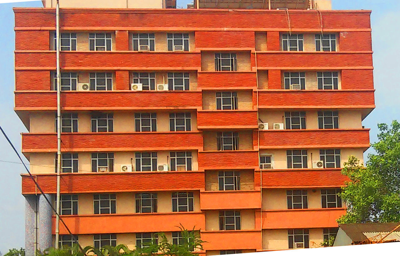 Apartment Architecture Architecture Bhaskar Building Exterior Built Structure City Day Good Design India Nature No People Outdoors Red Colour Residential Building Vijayawada Window NSFM