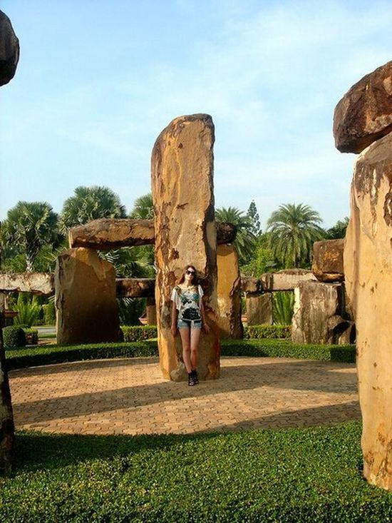 Traveling Nongnooch Travel Pattaya, Thailand Thailand Pattaya Nongnoochgarden Beautiful View Stonehenge Beautiful Nature A Day In Thailand Beautiful Place Pattaya Thailand Misterious In Thailand StoneHedge Enjoying Life Hi! That's Me