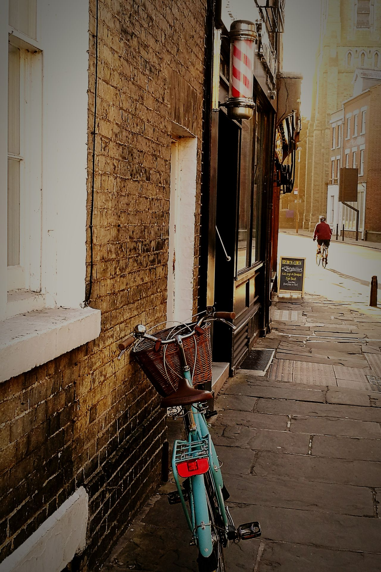 Cambridge UK Street Bicycle Outdoors City Day Cambridge Cambridgeshire United Kingdom Old Buildings HuaweiP9 Huaweiphotography Transportation