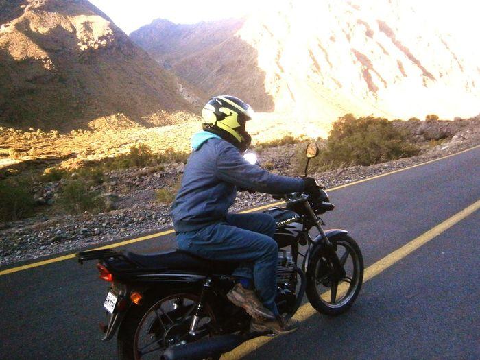 Moto San Jose De Maipo Naturaleza Precordillera Yo
