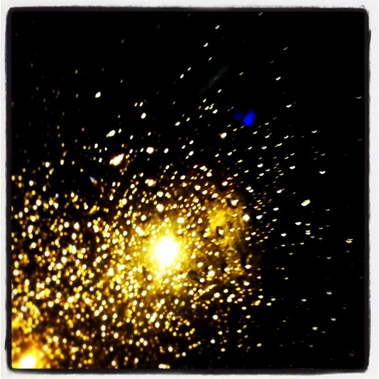 Raindrops Light Drops Light Lighting