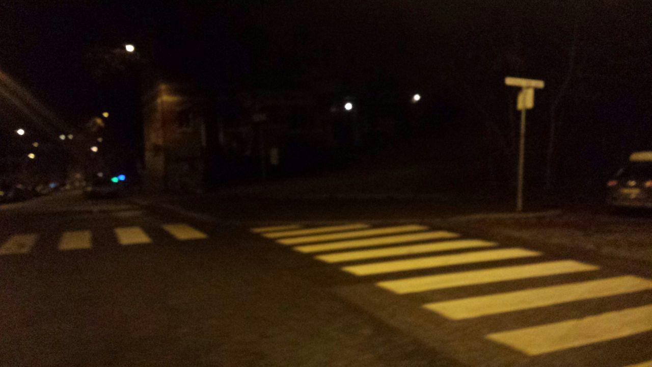 night, illuminated, street, transportation, car, road, outdoors, no people, street light, building exterior, city