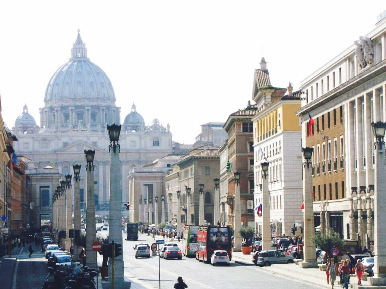 Rome Rome Italy Vatican VaticanCity Italy Italia Building Exterior Travel Destinations City Architecture Street Travel Dome City Life Road Built Structure