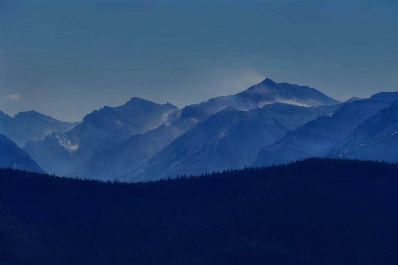 Snow banners to the south. A view from Mount Little Ware, in Bluerock Provincial Park, Alberta. Enjoying Life Late Autumn Mountains Get Outside Beautiful Nature Provincialpark Snow Banners