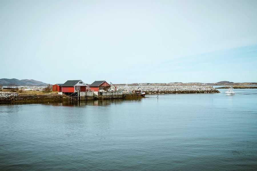 Norway Architecture Built Structure House Building Exterior Tranquility Water Outdoors Scenics Sea Sky Nature Mountain Range EyeEm Masterclass Eye Em Nature Lover Landscape EyeEm Selects