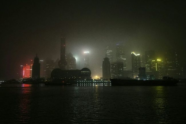 China Photos Night Lights Night View Midnight Landscape Architecture Building Exterior Travel Nightphotography Landscape_captures Outdoors Night Vision Riverscape Walking Around The City  Built Structure Foggy Night Walking Around From My Point Of View Riverside Taking Photos Streamzoofamily