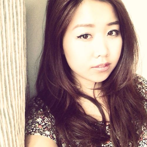I miss u so badly That's Me Self Portrait Asian Girl