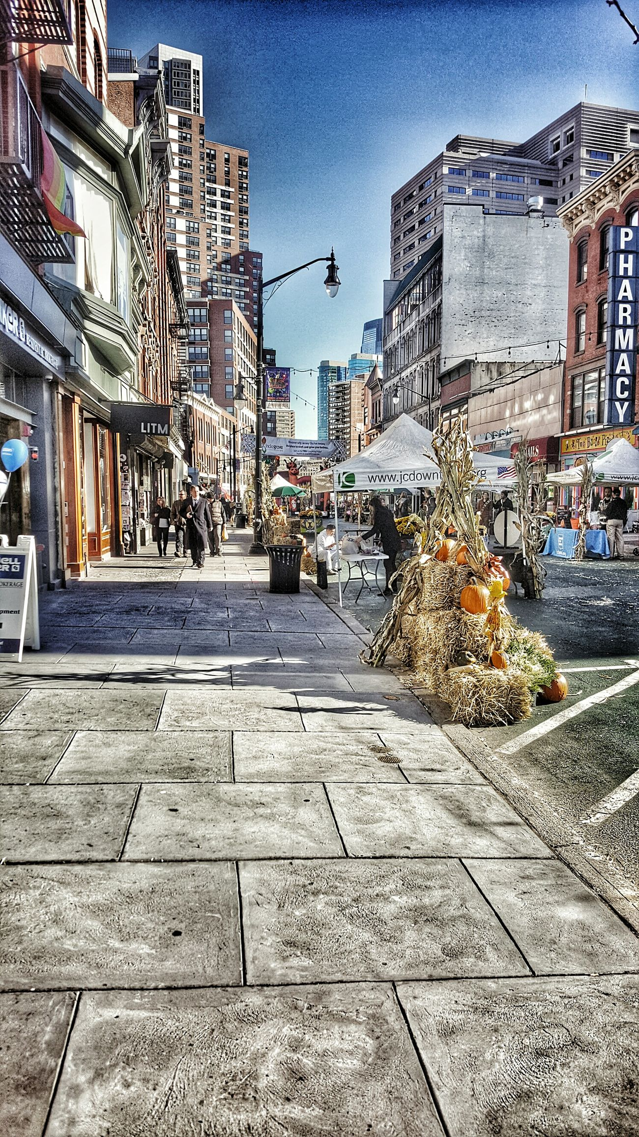 Revisiting familiar streets My Year My View Jersey City Architecture Building Exterior City Built Structure Sky Outdoors No People Day Hdr_Collection