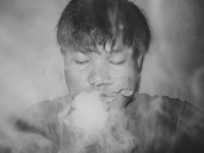 Art Black And White Eyeem Philippines Rico Ricoh GRD III Self Portrait Smoke The Week On EyeEm Vape