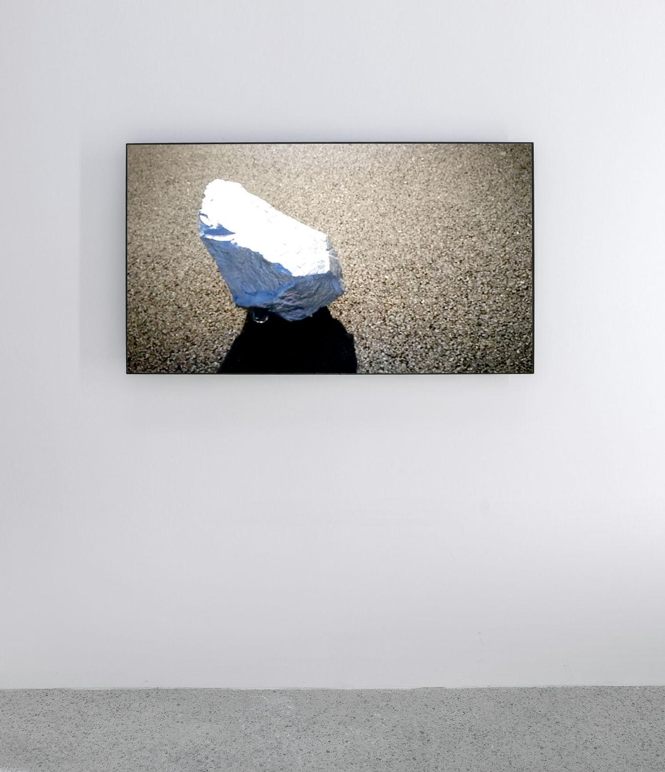 Art Gallery Installation Loop Meteor Plasma Run Video