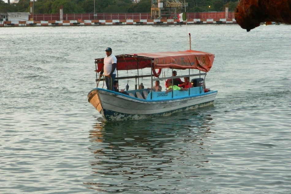 Boats Mexico Tampico Veracruz, México Ocean Restaurant Water People