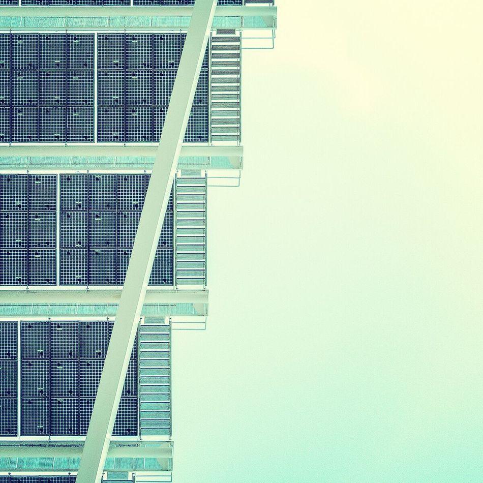 Stair of stairs | Escalera de escaleras Architectural Detail Architecture Urbanexploration Lookingup
