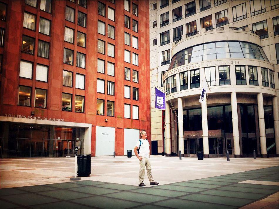 At NYU Stern School Of Business
