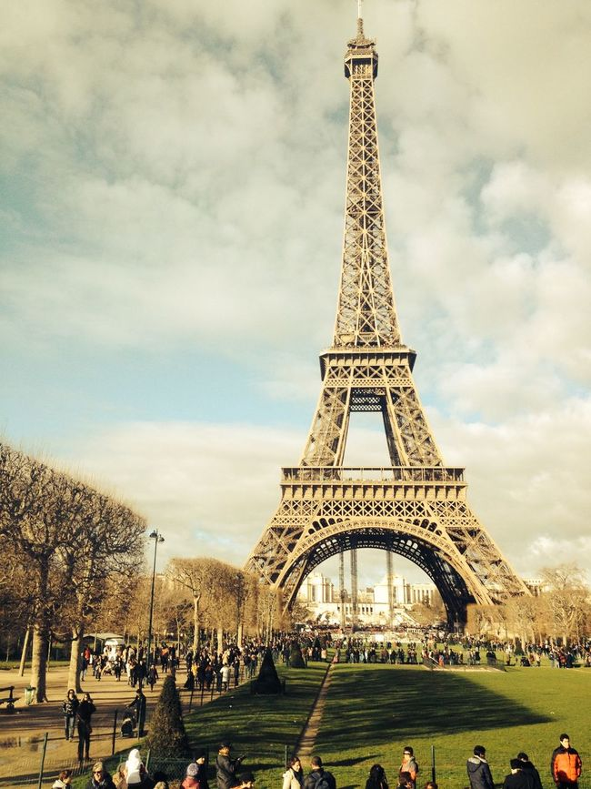 Paris Eiffel Tower Tour Eiffel