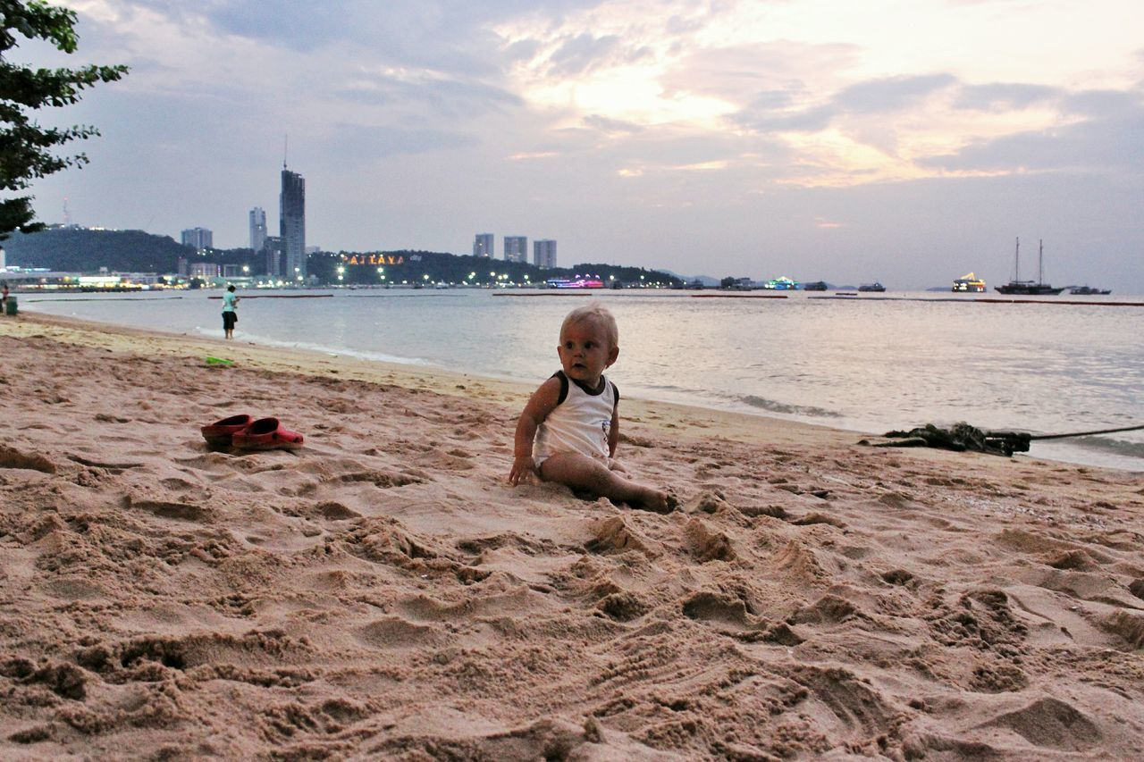Spotted In Thailand Pattaya Beach Baby On The Beach Baby The KIOMI Collection Showcase April