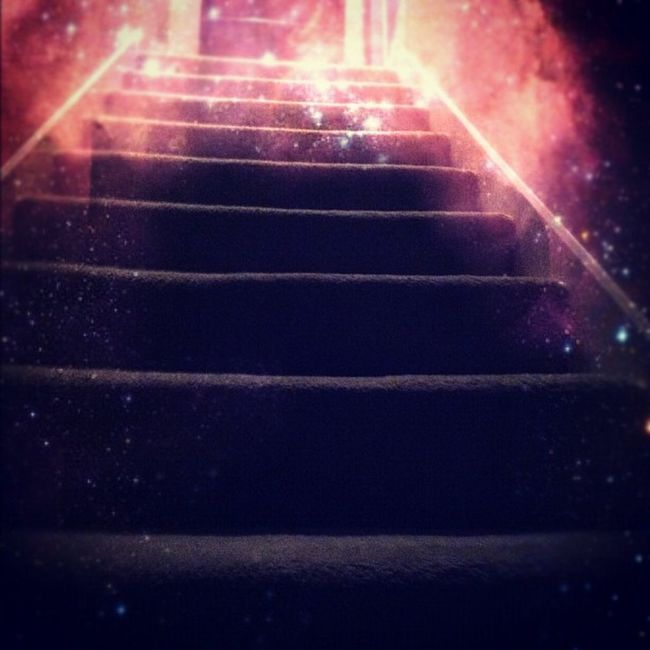 Stair master. Aprilphotoaday April Day12 Stairs space stars galaxy ig igers igdaily igaddict igaddictdaily photooftheday picoftheday instaweb instafeed instagram instadaily instaspace iphone4 iphonesia iphoneonly iphonegraphy iphonegrapher