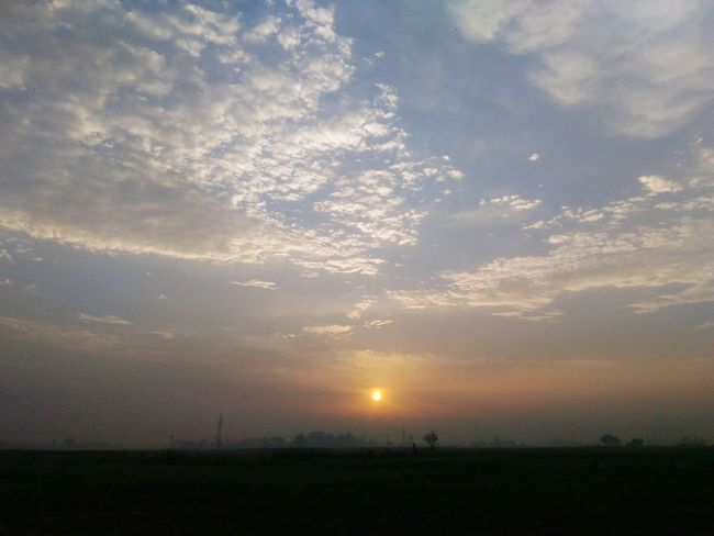 Sunset Nature Sky Brijesh Photography Clou Noonearound Blank 43 Golden Moments