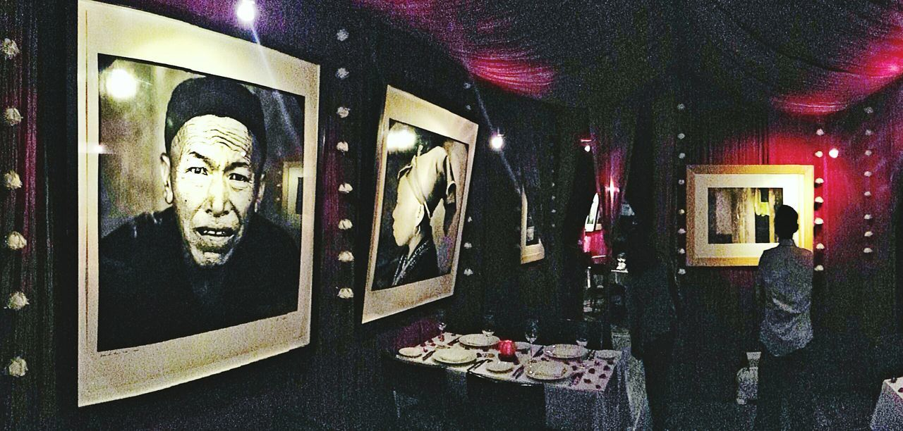 Bobby Chinn's restaurant in Hanoi Indoors  DIM Cosy Interior Chic Relaxing Nice Ambience Portraits Table Setting