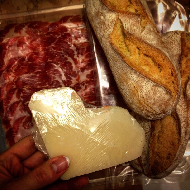 Milano Italy Indoors  Food And Drink Healthy Eating Ready-to-eat Eattime Good Food Eating Cheese Breakfast Bread Delicious For Breakfast ♥
