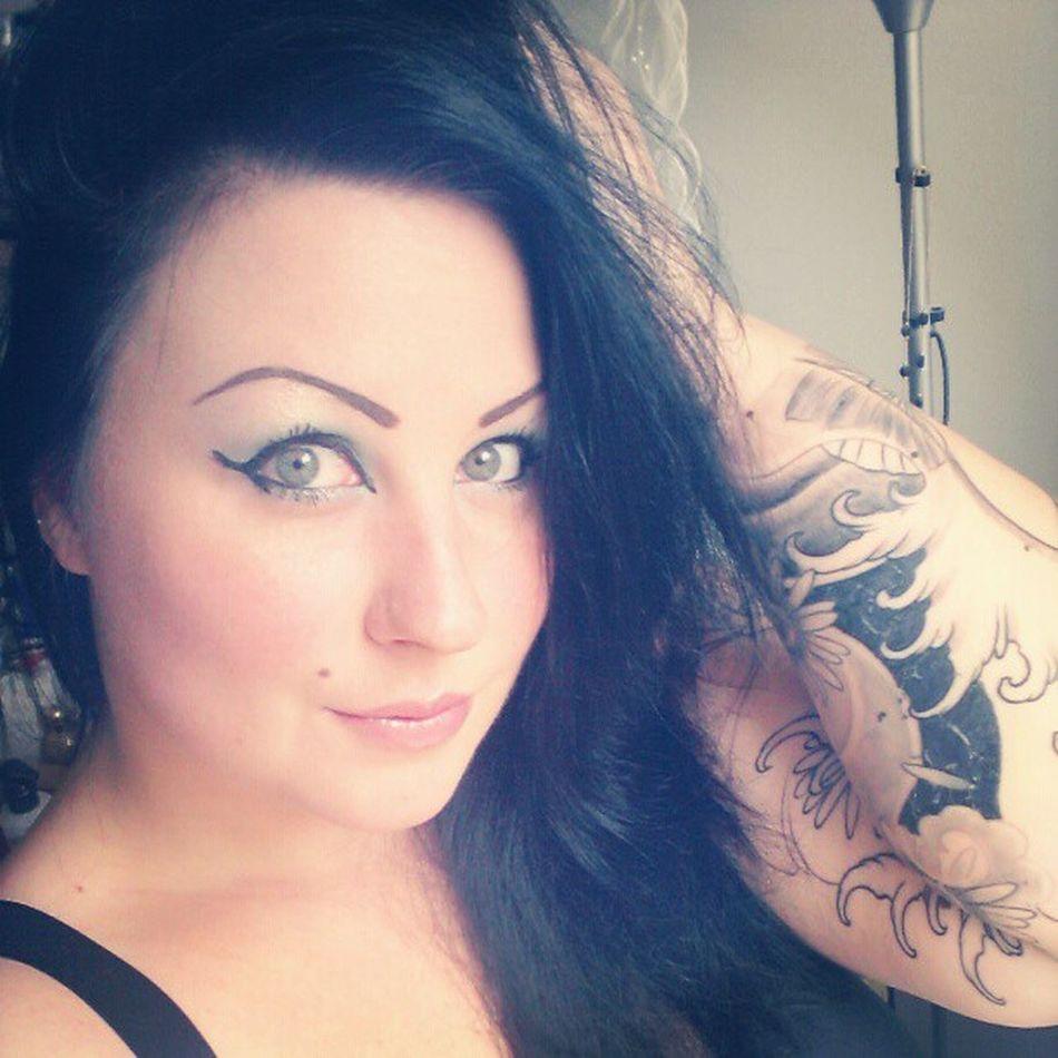 Makeup Muotd Maccosmetics Macaddict mac toofacedmakeup toofaced armtattoo girlwithtattoos inprogress tattooinprogress inkedgirl inked tattoo