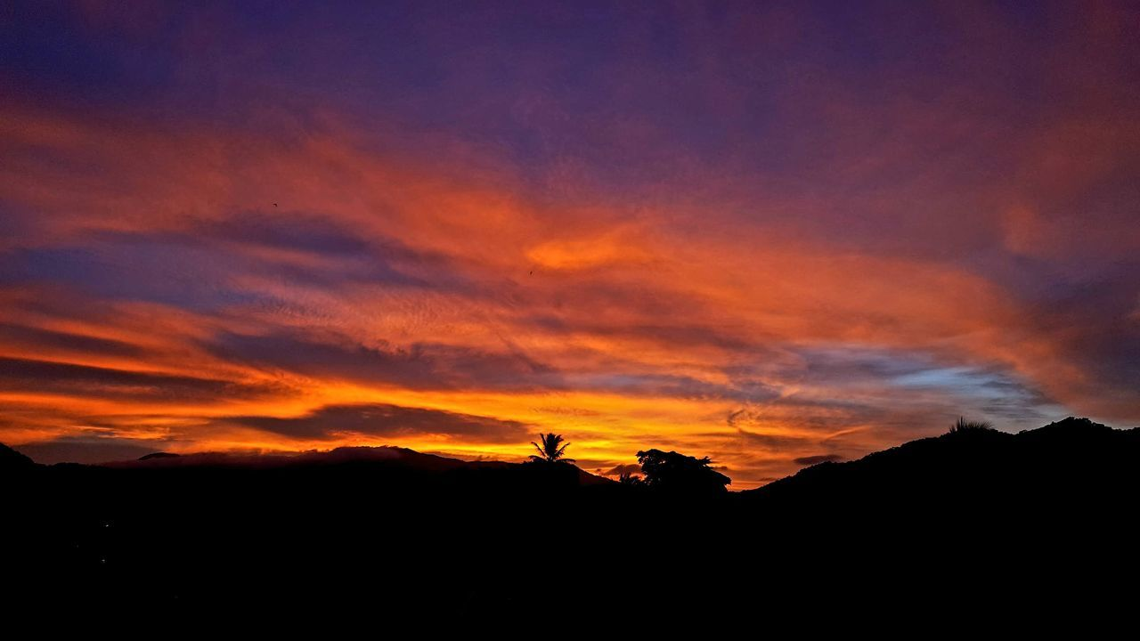 Sunset Silhouette Orange Color Nature Scenics Outdoors Landscape Beauty In Nature Sky Dramatic Sky North Queensland Australia Australian Landscape Cairns, North Queensland, Australia Cloud - Sky Fnq Romantic Sky