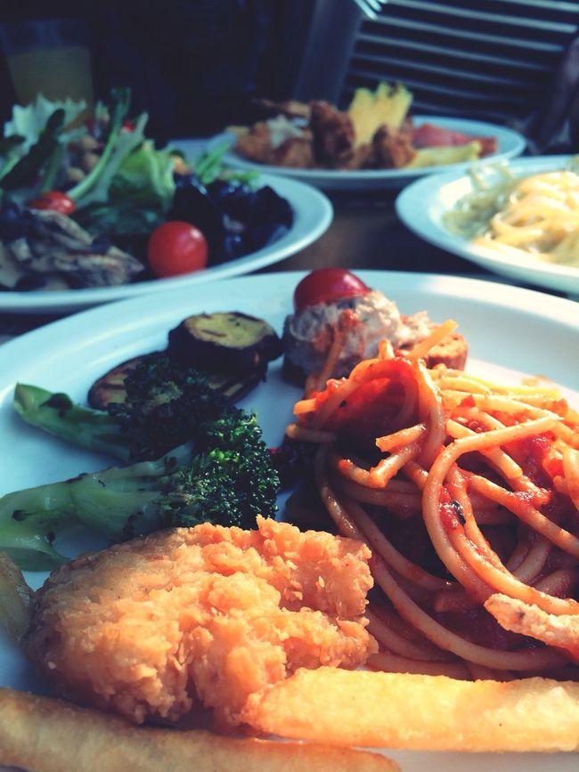 Today lunch Food Enjoying Life