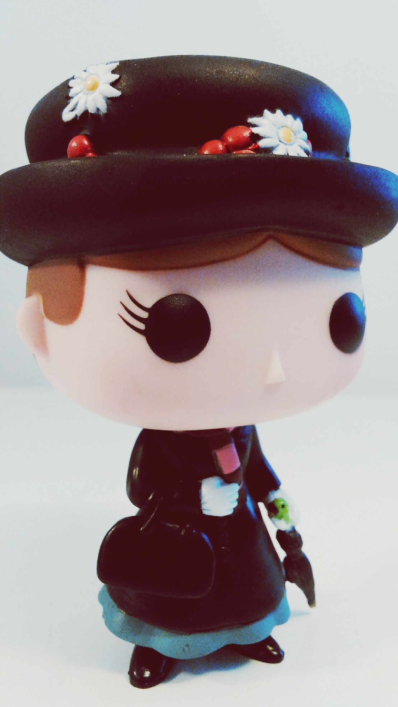 Childhood Hat Toy Close-up Studio Shot Holding White Background Funky Human Face Marypoppins Funkofunatic Funkopopvinyl Full Frame Front View Eyem Best Shots Amazing Surface Level Non-urban Scene Indoors  Close Up Photography Closeup Colorful Still Life Funko Hobbies