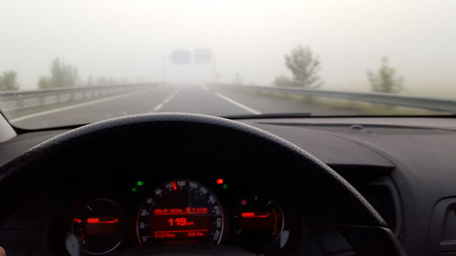 Foggy Morning Highway Speedway Autobahn Landscape Citroen C5 Tourer Citroen C5 France Midi-Pyrenees Tarn Et Garonne Morning Sky Sky And Clouds Numbers Hello World Getting Inspired Smartphonephotography Selective Focus Samsung Galaxy S6 Taking Photos Mobilephotography Samsungphotography