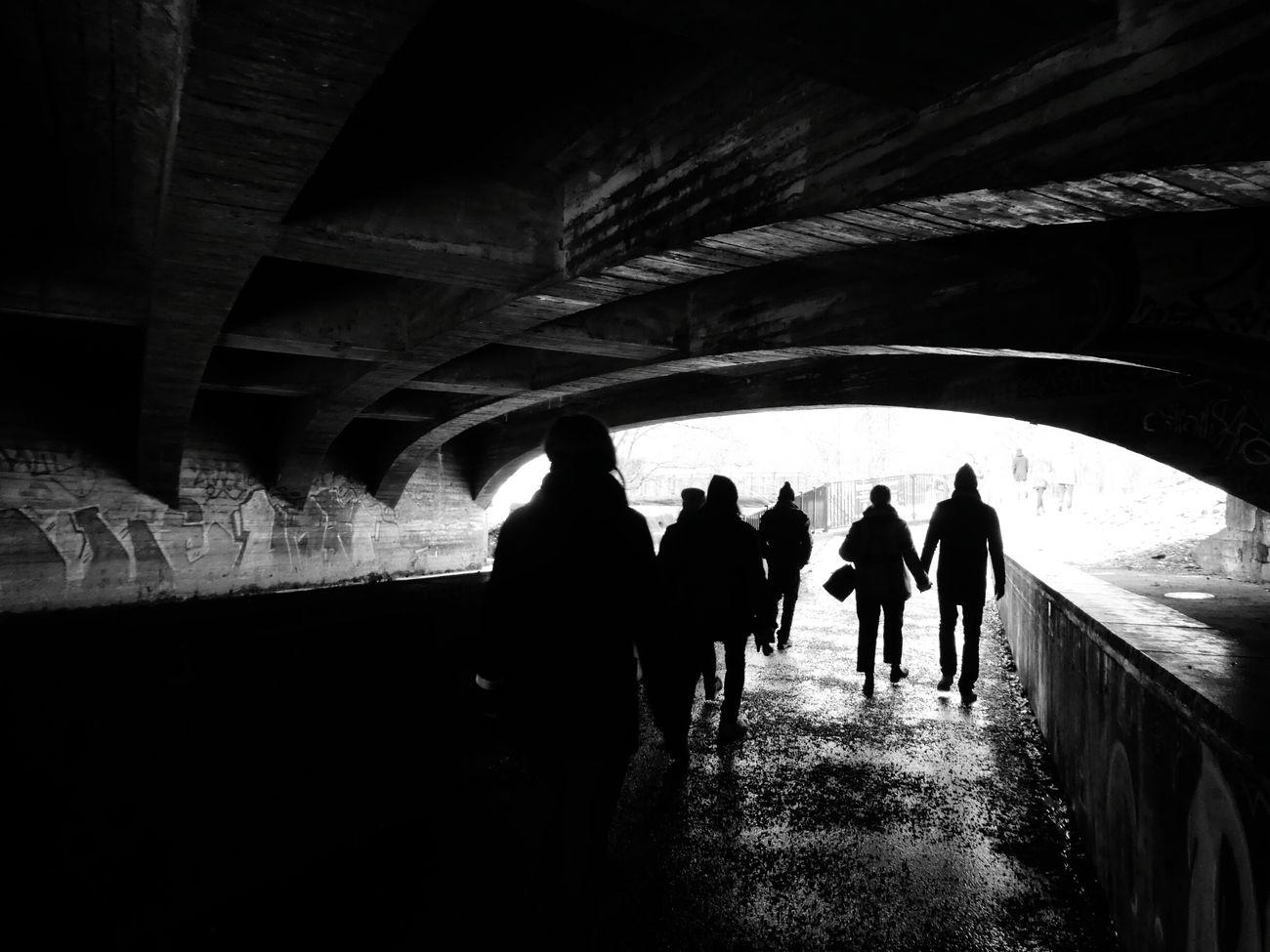 Into The Light Bridge People City Life Urban Lifestyle Walking Around Taking Pictures Akerselva Underthebridge Sundaywalk
