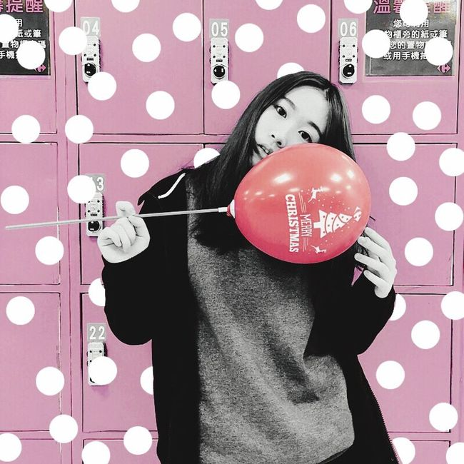 MerryChristmas Dot 草間彌生 Pink Color It's Me Hello