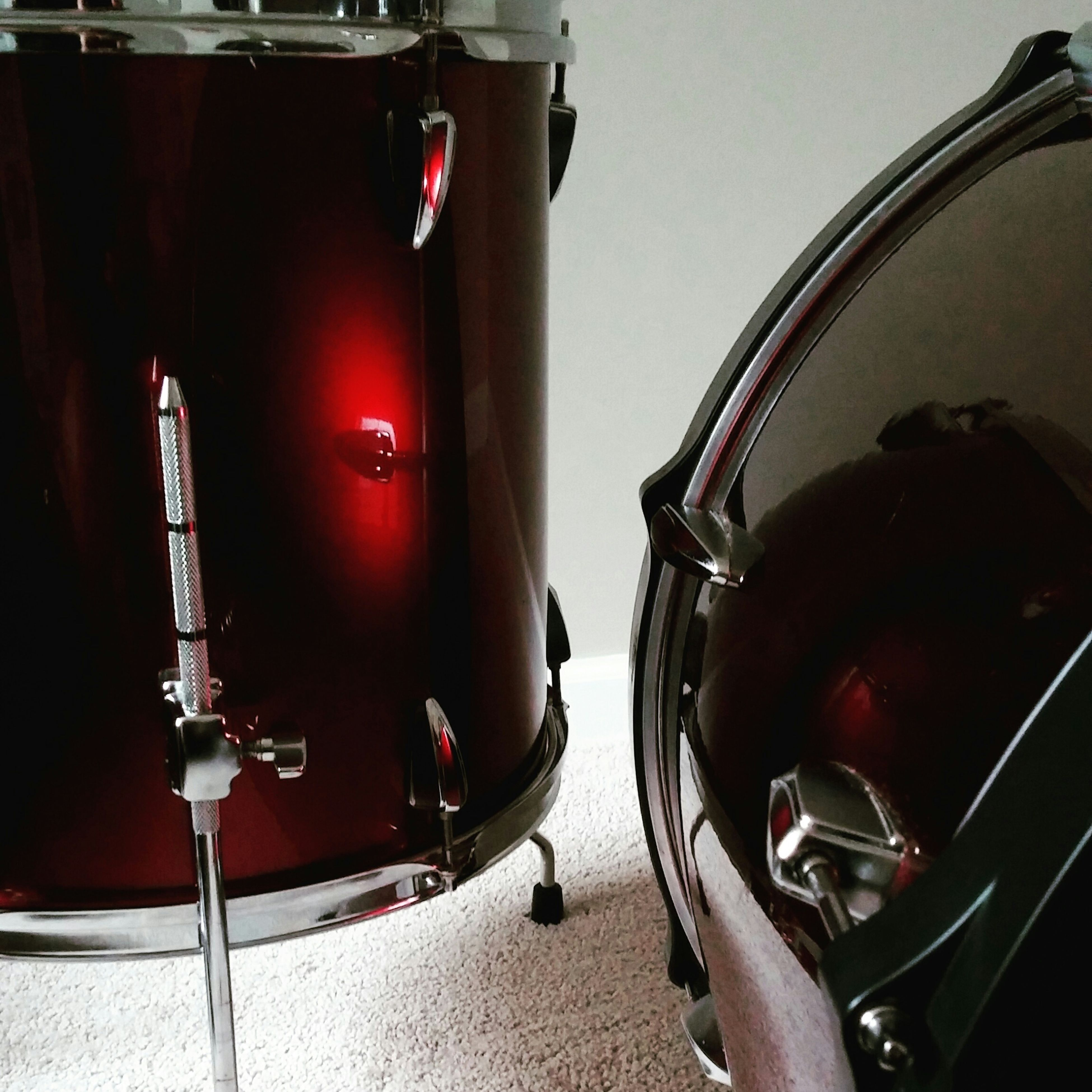 Ruby Radiance. Redrum Photo Finish To Drum Snapseed