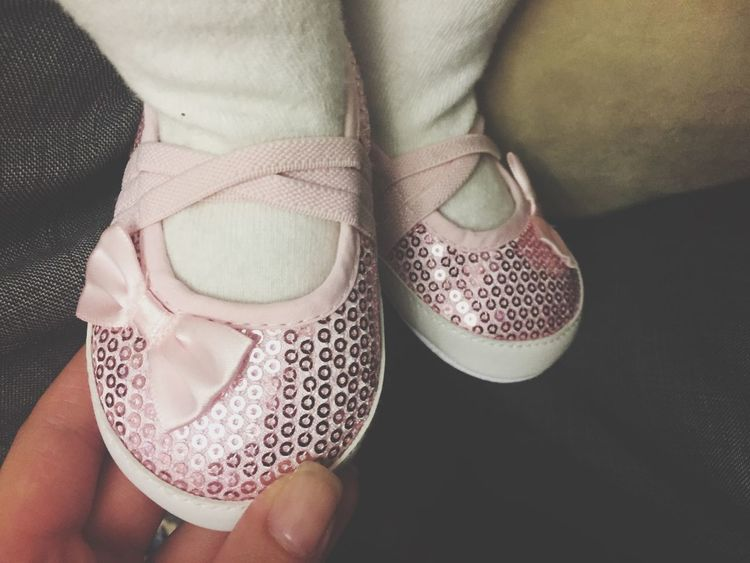 Hello World look at My Little Angel Shoes ❤️👼