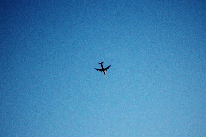 Little Little Cutie Plane. 美しさ ⛰️🌸 Canon Plane Color Art Amazing Travel Nature Flying Low Angle View Outdoors Day No People Airplane Nature Sky
