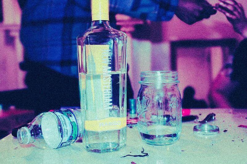 Bottle Liquid Indoors  Laboratory