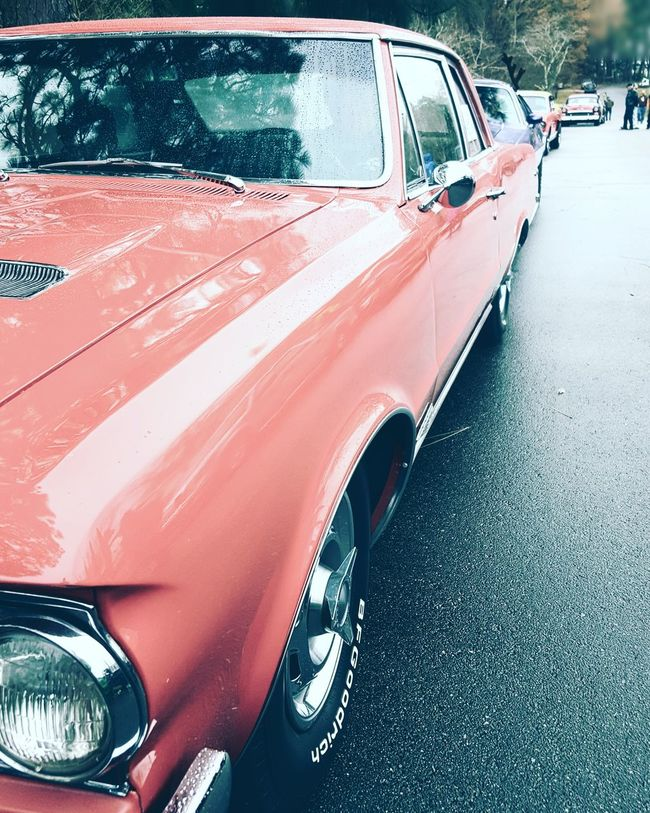RainDrop Droptop  Migos Raindropdroptop Raindrops Droplets Transportation Car Mode Of Transport Outdoors Day No People Close-up Colorful Cotton Candy Cottoncandy Pink Blue Huế Hues Classic Cars Classic American Muscle Muscle Car