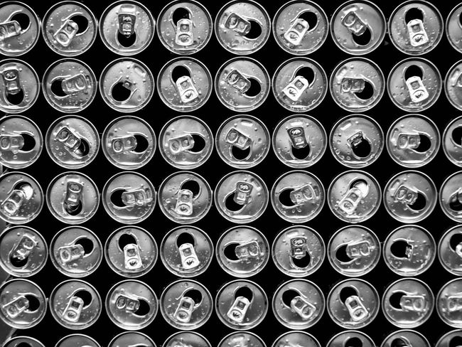 Cans Drink Cans Aluminum Can Stackables Metal Stuff Symmetrical Bnw_collection