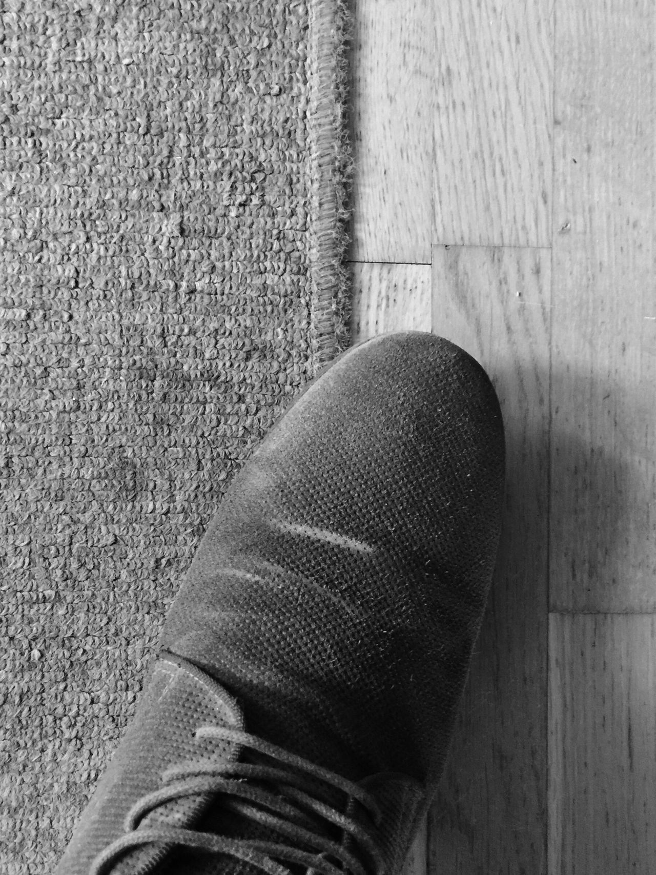 Walking In My Shoes. Showcase April Blackandwhite Old Floor Backto70's