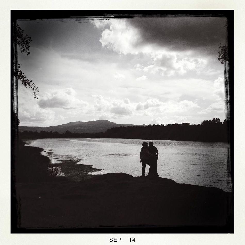 Atardecer... EyeEm Best Shots - Black + White EyeEm Best Shots - Landscape in Valença.