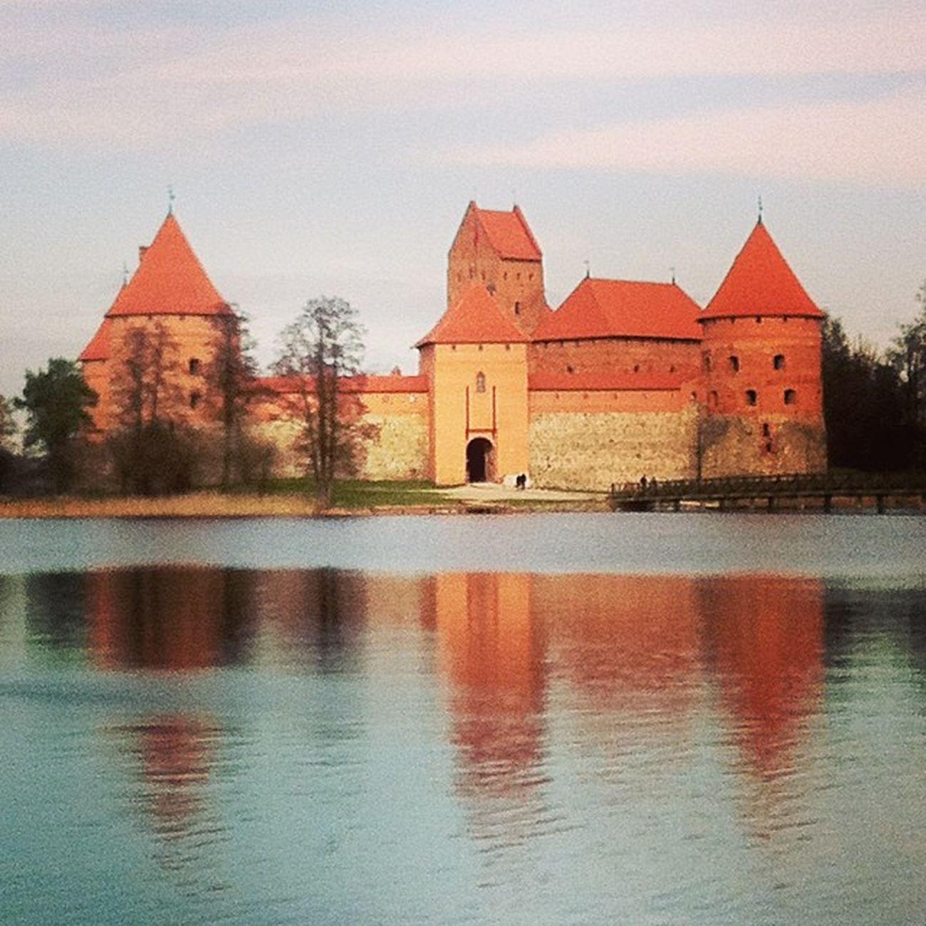 Тракайский Литва старинныйзамок тракай Trakai
