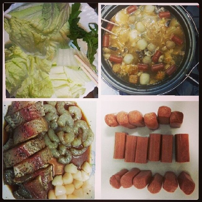 Last steamboat with family! Goh Family Steamboat Food andmorefoodtomyumfailverysaltyahaha