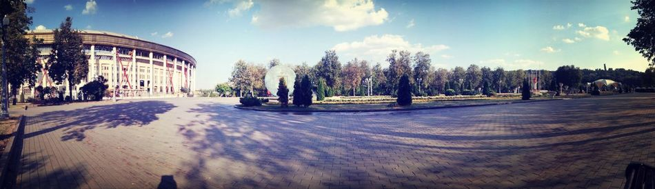 Moscow Panorama Summer Park