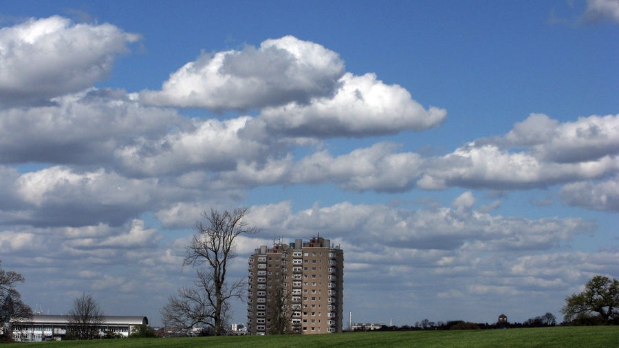 View over Brockley Park with Tower and Clouds Atmosphere Atmospheric Mood Cloud Cloud - Sky Cloudscape Cloudy Distant Dramatic Sky Dusk Environmental Conservation Moody Sky Orange Color Outdoors Overcast Relaxing Moments Remote Sky Storm Cloud Sunset View Over South London Brixton Brockley Park Big Sky Clouds Cloud Blue Sky Skies Tower Block Trees Park Landscape Urban Cityscape South London Photography Photographic Photograph Photographic Documentary Reportage Taking Photos Street Photos Urban Fotos M Voyage