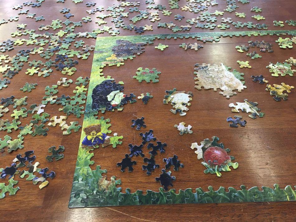 Unfinished puzzle Puzzle  Jigsaw Puzzle Rompecabezas
