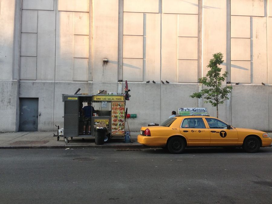 Food Stall NYC CAB