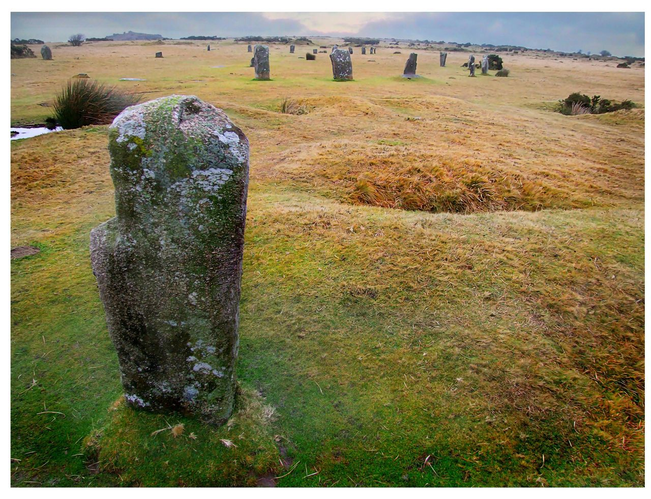 The Hurlers 2 The Hurlers Minions Stone Circle Cornwall Ancient Monument Moors Rocks Bodmin Moor Stones Of Beauty
