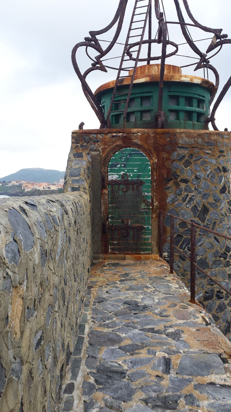 History Architecture Sel Rouille Mer Collioure