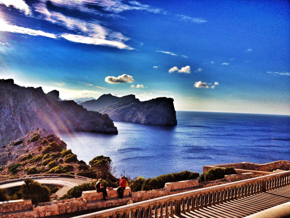 blue at Cap de Formentor by LomoFreakOfTheWeek