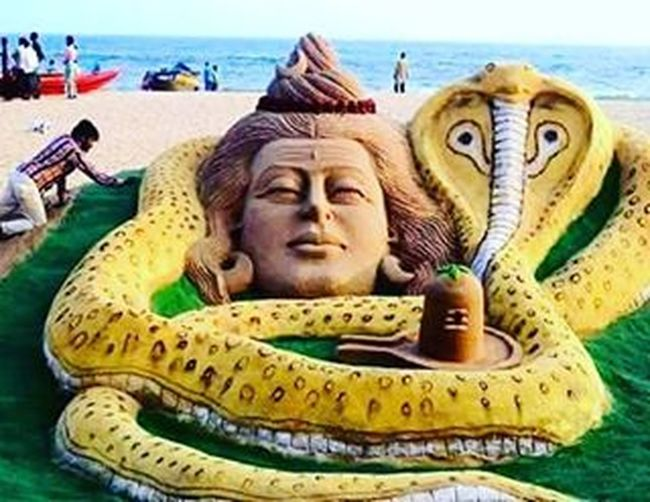 MahaShivRatri Sandwork HarHarMahadev OmNamahShivaya