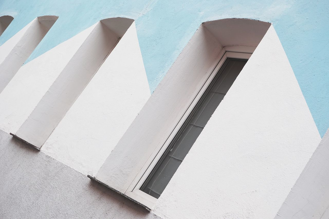 Abstract Architecture Building Exterior Built Structure Façade Minimalism Optical Illusions Simplicity Geometric Shape Geometry Windows The City Light