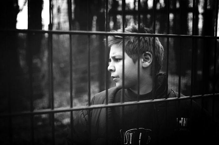 Blackandwhite Portrait Children Perspectives